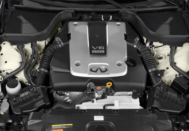 2015 Infiniti Q40 Engine Bay Pictures