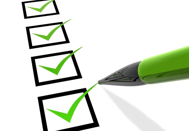 Make a list of the changes you want to make.