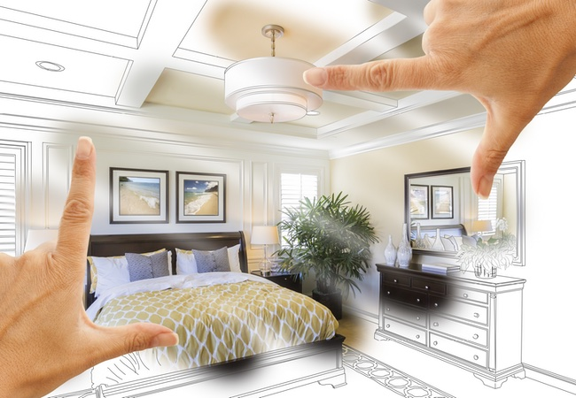 Measure the space you have and visualize how your house will look